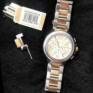 Michael Kors Watch Two-Tone Gold & Stainless